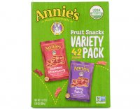 Annie's Organic Fruit Snacks Variety Pack 0.8oz Pouches 36Count
