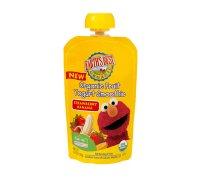 Earth's Best Organic Fruit Yogurt Smoothie Strawberry Banana 4.2oz Pouch