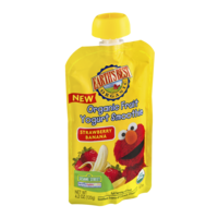 Earth's Best Organic Fruit Yogurt Smoothie Strawberry Banana 4.2oz Pouch