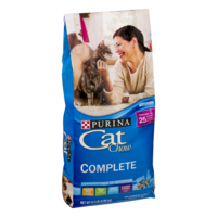 Purina Cat Chow Complete Formula Dry Cat Food 6.3LB Bag