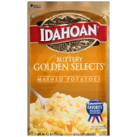 Idahoan Mashed Potatoes Buttery Golden Selects 4.1oz PKG