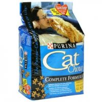 Purina Cat Chow Complete Formula Dry Cat Food 3.15LB Bag