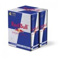Red Bull Energy Drink 4PK of 12oz Cans product image