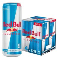 Red Bull Sugar Free Energy Drink 4PK of 12oz Cans