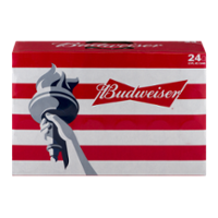 Budweiser Beer Suitcase 24CT 12oz Cans *ID Required*