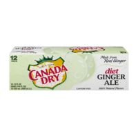 Canada Dry Diet Ginger Ale 12PK of 12oz Cans product image