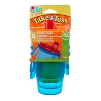 First Years Take & Toss 7oz Spill Proof Sippy Trainer