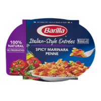 Barilla Mezze Penne with Spicy Marinara Sauce Microwaveable Meal 9oz product image