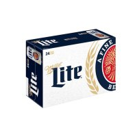 Miller Light Beer Suitcase 24CT 12oz Cans *ID Required* product image