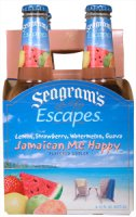 Seagram's Escapes Wine Coolers Jamaican Me Happy 4Pack 11.2oz Bottles  *ID Required*