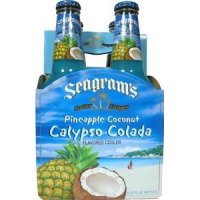 Seagram's Escapes Wine Coolers Calypso Colada 4Pack 11.2oz Bottles  *ID Required*