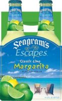 Seagram's Escapes Wine Coolers Classic Lime Margarita 4Pack 11.2oz Bottles  *ID Required*