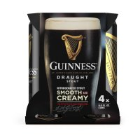 Guinness Draught Stout Beer 4CT 14.9oz Cans *ID Required*