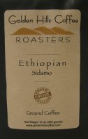 Golden Hills Coffee Roasters Ethiopian Sidamo (Ground) 12oz Bag