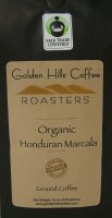 Golden Hills Coffee Roasters Organic Honduran Marcala (Ground) 12oz Bag