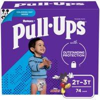 Huggies Pull-Ups 2T-3T Boys 18-34 LBS 74CT PKG