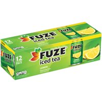 Fuze Iced Tea Drink with Lemon 12PK of 12oz Cans product image