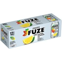 Fuze Diet Iced Tea Drink with Lemon 12PK of 12oz Cans