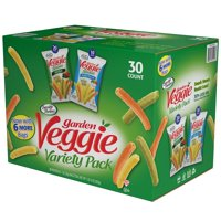 Sensible Portions Veggie Snacks Variety 1oz Snack Bags 30CT Box