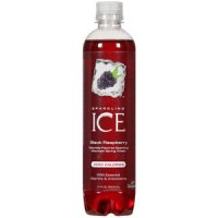 Sparkling Ice Flavored Sparkling Spring Water Black Raspberry 17oz Bottle