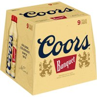 Coors Banquet Beer 9CT 16oz Screw Top Aluminum Pint *ID Required* product image