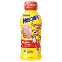 Nestle Nesquik Strawberry Milk 14oz BTL