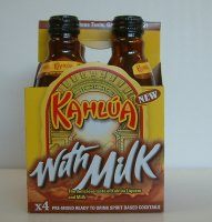 Kahlua with Milk Ready-to-Drink Liqueur 200ml Bottles 4PK *ID Required*