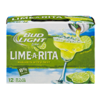 Bud Light Lime Lime-A-Rita Beer 12CT 8oz Cans *ID Required*