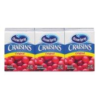 Ocean Spray Original Craisins 6 Packs 1oz Boxs product image