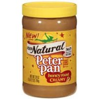 Peter Pan 100% Natural Creamy Honey Roast 16.3 oz jar