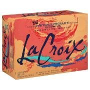 La Croix Natural Pure Sparkling Water Grapefruit 12PK of 12oz Cans