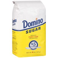 Domino Pure Cane Granulated Sugar 4LB Bag