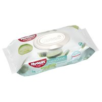 Huggies One & Done Refreshing Cucumber & Green Tea Wipes Portable Soft Pack 56CT product image
