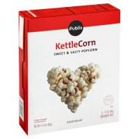 Store Brand Kettle Corn Microwave Popcorn 6 Pack of 2.4oz Bags
