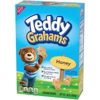 Nabisco Honey Maid Teddy Grahams Honey Graham Snacks 10oz Box