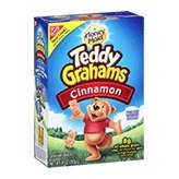 Nabisco Honey Maid Teddy Grahams Cinnamon Graham Snacks 10oz Box