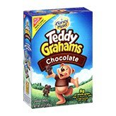 Nabisco Honey Maid Teddy Grahams Chocolate Graham Snacks 10oz Box product image
