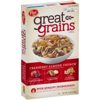 Post Great Grains Cranberry Almond Crunch 14 oz Box