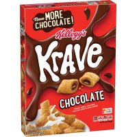 Kellogg's Krave Chocolate Cereal 11.4oz Box