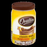 Ovaltine Classic Malt Mix 12oz Canister product image