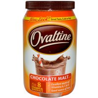 Ovaltine Chocolate Malt Mix 12oz Canister