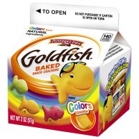Pepperidge Farm Color Goldfish Crackers Cheddar 2oz PKG