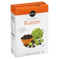 Store Brand California Snack Raisins 12oz Box