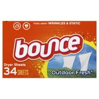 Bounce Dryer Sheets Outdoor Fresh Scent 34CT