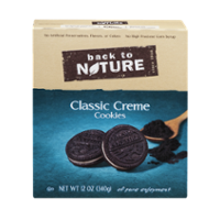 Back To Nature Cookies Classic Creme Sandwich 12oz PKG product image