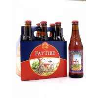 New Belgium Fat Tire Amber Ale Beer 6CT 12oz Bottles *ID Required*