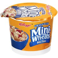 Kellogg's Frosted Mini Wheats Cereal Single 2.5oz Cup