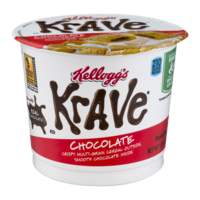 Kellogg's Krave Chocolate Cereal Single 1.87oz Cup