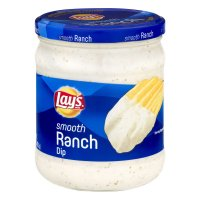 Lay's Smooth Ranch Dip 15oz Jar product image