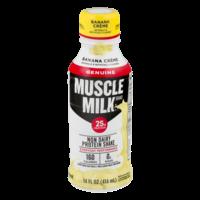 Muscle Milk Protein Nutrition Shake Banana Creme 14oz BTL product image